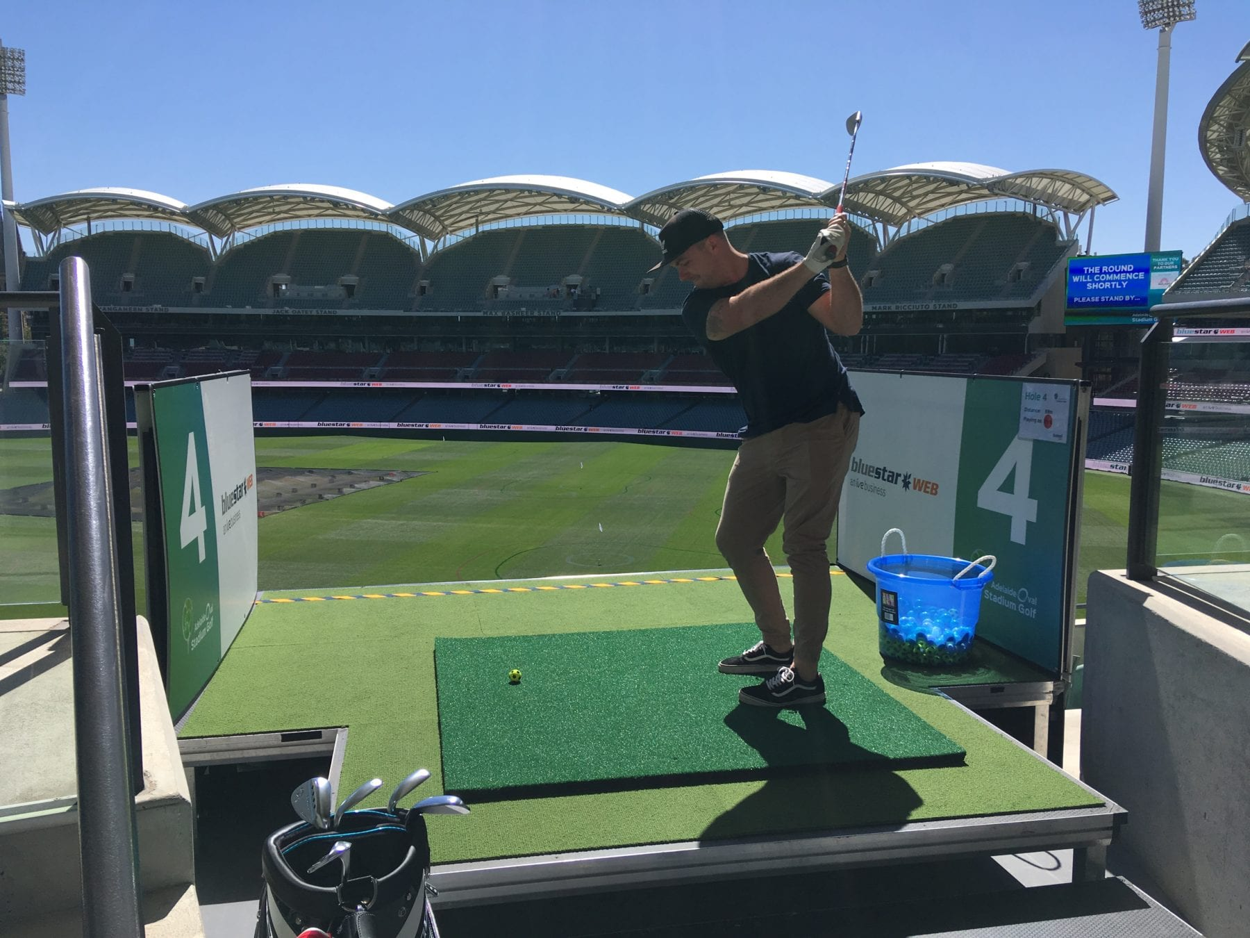Adelaide Oval Stadium Golf