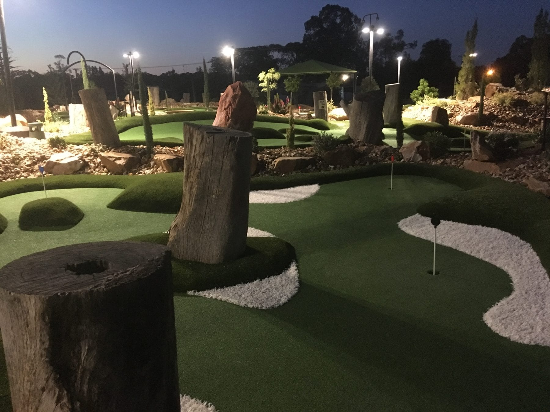 Mini Golf at its best!