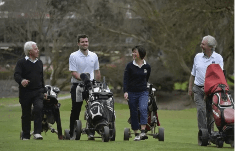 Golfers' Health and Wellbeing Project Survey
